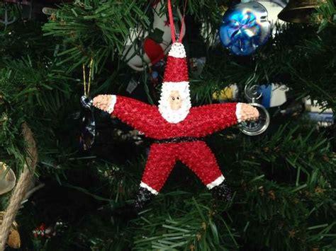 buy starfish santa claus christmas tree ornament model