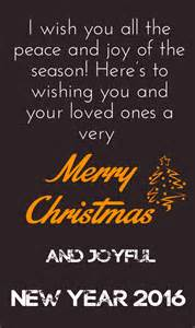 merry christmas and happy new year 2017 quotes wishes