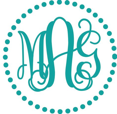 monogram template comfortable monogram template free images documentation