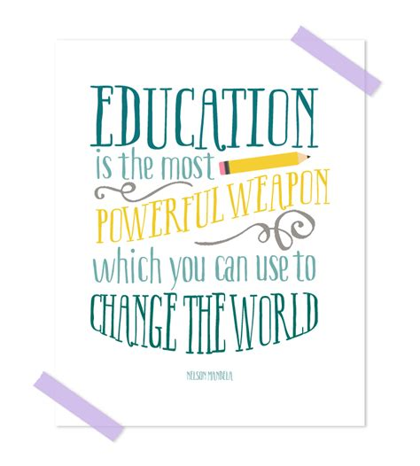 free printable disney quotes free classroom printable quote nelson mandela quote