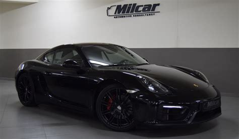 porsche cayman 2015 black milcar automotive consultancy 187 porsche cayman gts 2015