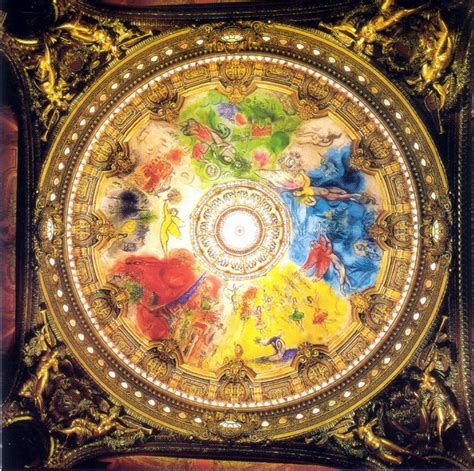 Chagall Ceiling by Marc Chagall Quot Ceiling For The Opera Quot 1963