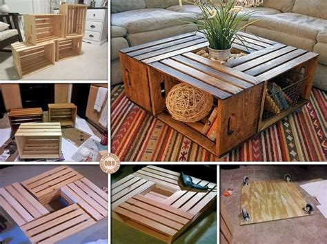 Diy Coffee Table Ideas 16 Diy Coffee Table Ideas And Projects