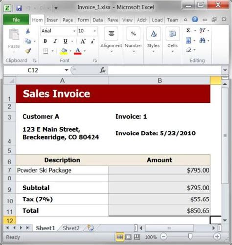 sle invoice using excel fdfspofu sales invoice template excel
