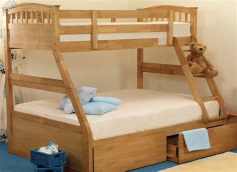 Sweet Bunk Beds Sweet Dreams Epsom Sleeper Bunk Bed In Oak By Sweet Dreams