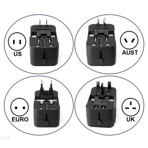 Hoco 4 In 1 Usb Universal Travel Socket Charger Power Adapter Ac2 4 in 1 au uk us eu universal travel ac usb power charger adapter converter ebay