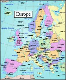 Labeled Europe Map by Pics Photos Europe Map Labeled