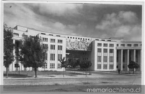 fotos antiguas universidad de concepcion universidad de concepci 243 n memoria chilena biblioteca