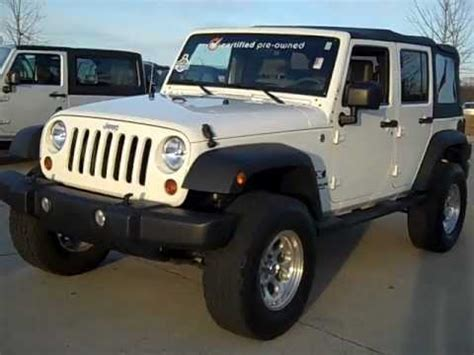 Jeeps For Sale In Nc by Used 2009 Jeep Wrangler Unlimited X For Sale In