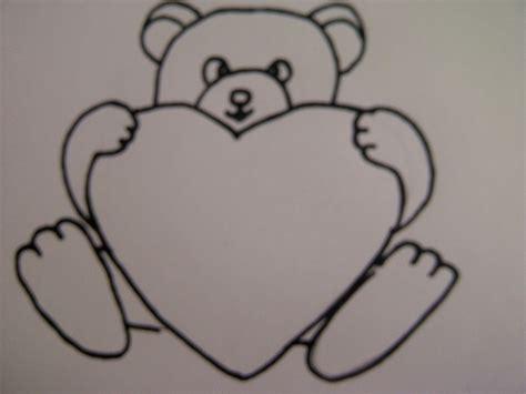 Beste Farben Zum Der Küchen Kabinette Zu Malen by Teddyb 228 R Mit Herz Zeichnen Zeichnen Basteln Zum
