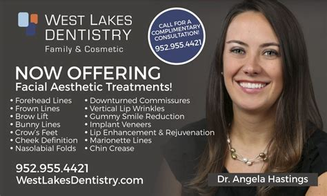 botox facial aesthetics cosmetic dentistry by dentists in facial aesthetics services in mound mn west lakes dentistry