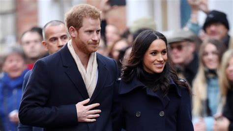 prince harry and meghan markle called perfect couple by prince harry and meghan markle make joint appearance as