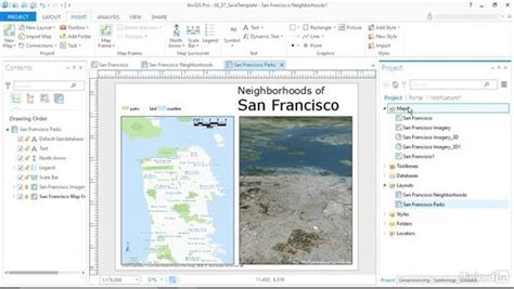 saving layout in arcgis save a layout template