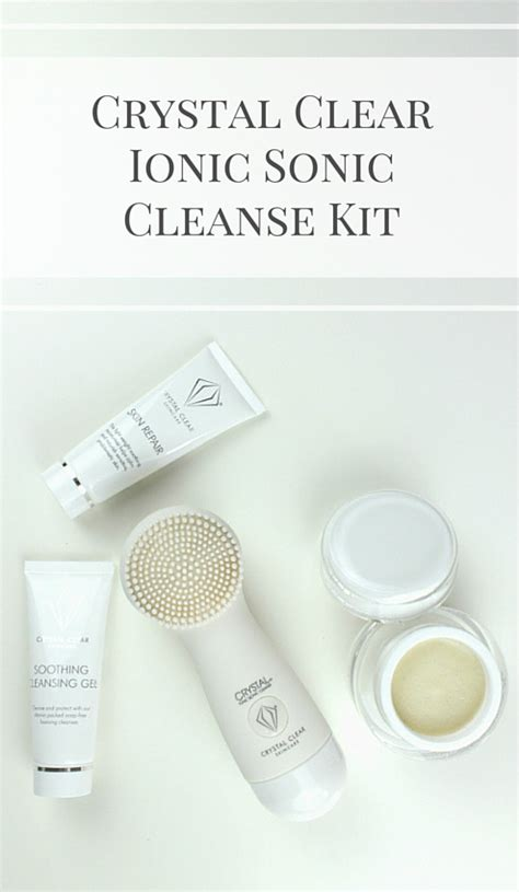 Ionic Detox Review by Impressions Clear Ionic Sonic Cleanse Kit