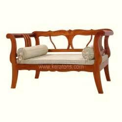 tirah teak wooden sofa balikpapan furniture showroom