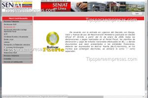 seniat en linea persona natural seniat venezuela como hacer declaraci 243 n de iva