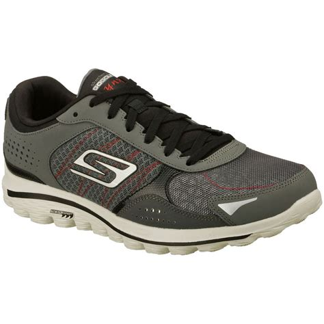 skechers go walk 2 performance mens leather spikeless
