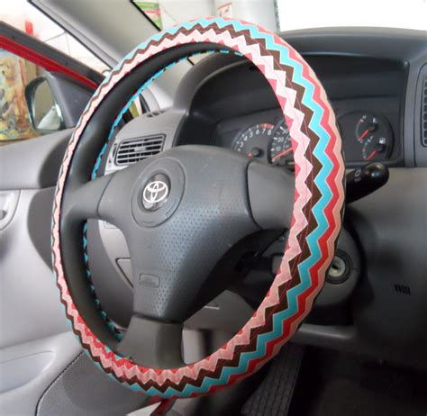 steering wheel upholstery corner window crafts diy steering wheel cover
