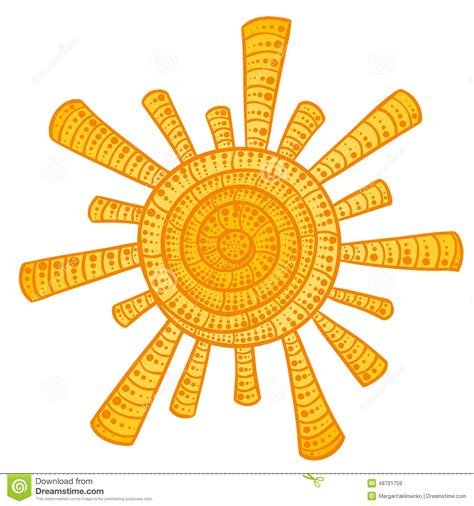 up around the sun doodlebug doodle sun stock vector image 48701759