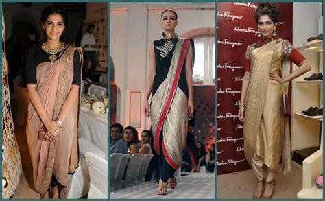 Elephant Drapes How To Wear Designer Saree Dhoti Saree Pant Style Saree