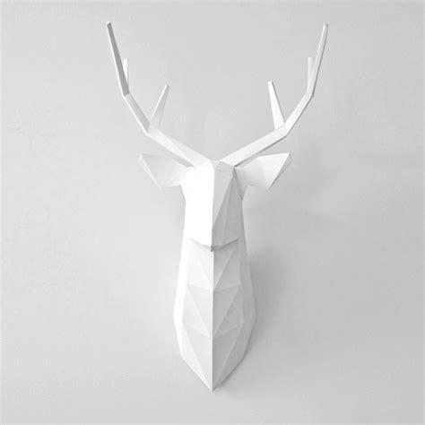 Blender Papercraft - diy jele蜆 bia蛛y dekoracje na 蝗cian苹 pakamera pl
