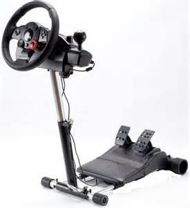 Steering Wheel Stand Simulator Gaming Racing Steering Wheel Stand Pro 4