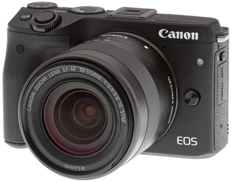 cannon digital canon eos m3 review