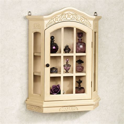 kitchen wall display cabinets viviana wall curio cabinet