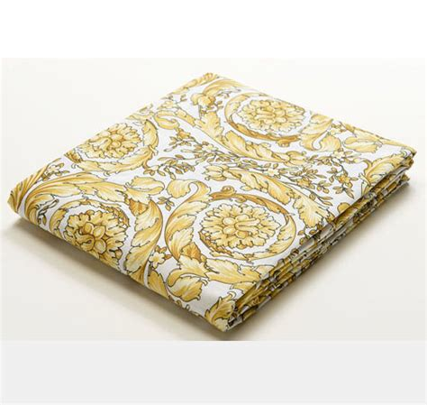 versace bed sheets versace barocco white queen size bed sheet set 4 pieces ebay