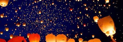 lanterne volanti roma il litorale romano come la thailandia con la festa della