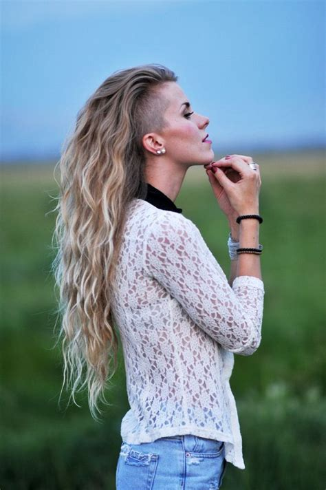 long hairstyles with shaved sides women 25 best ideas about long shaved hairstyles on pinterest