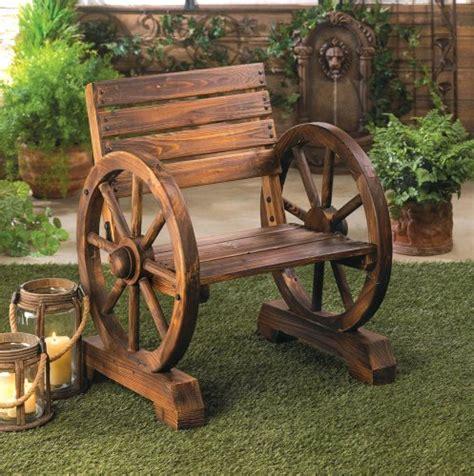 wagon wheel benches webnuggetz com