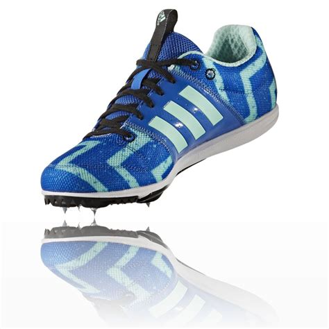 Adidas Tracking Green adidas allrounder junior green blue running track field spikes shoes trainers ebay