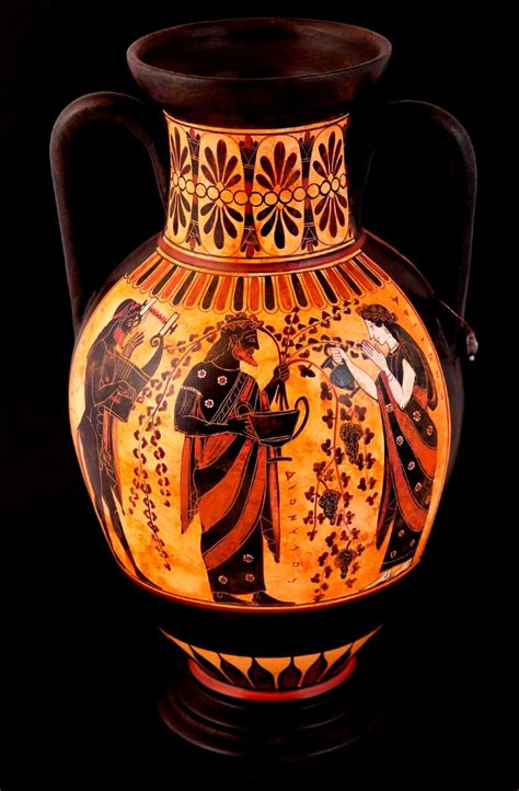 Dionysus Vase by Pottery Shop Buy Ancient Vessels Replicas