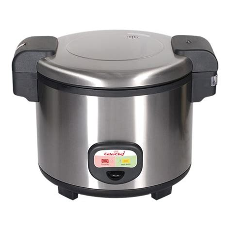 Rice Cooker 7 Liter caterchef jacketed rice cooker stainless steel 30