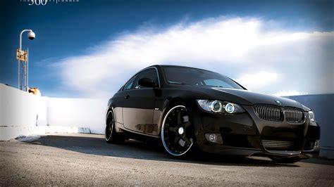 1600 x 900 car wallpapers wallpaper 1600x900 bmw car black color hd background