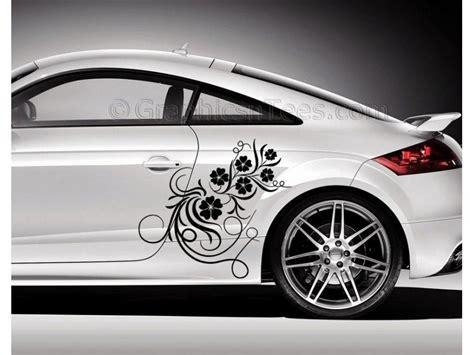 white girly cars audi tt car sticker decal flower car sticker girly