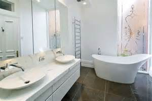 White Bathroom Ideas - minimalist white bathroom designs to fall in