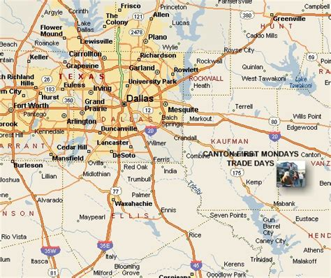 canton texas map canton texas search engine at search