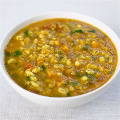 recipes with lentils vegetarian barley vegetable soup with lentils recipe