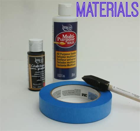 chalk paint sealer decoart chalkboard door panels a craft in your