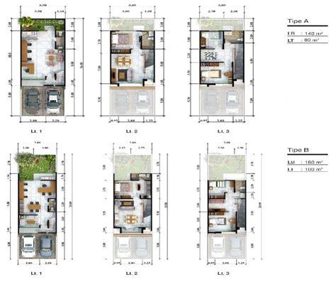 layout rumah kantor ruko dijual new shophouse 3 lantai harga perdana unit