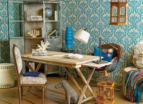 Retro Style Home Decor 30 Modern Home Office Decor Ideas In Vintage Style