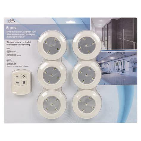 Wireless Bathroom Light 6 Remote Wall Ceiling Wireless Led Lights Kitchen Bathroom Cabinet Ebay