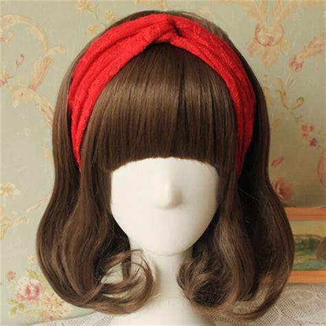 Lace Knot Headband lace flowers headband knot soft hair band