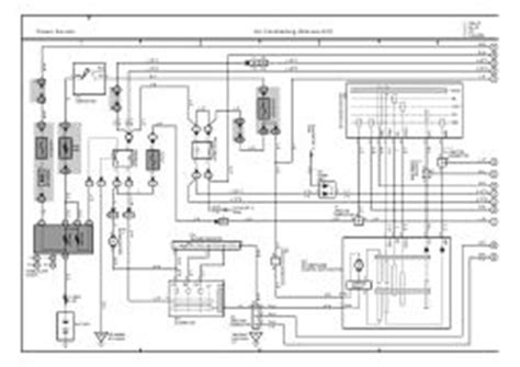 electric and cars manual 2001 toyota solara head up display repair guides overall electrical wiring diagram 2001 overall electrical wiring diagram
