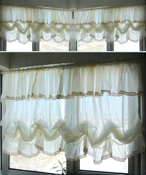 country curtains lace 25 best ideas about balloon curtains on pinterest