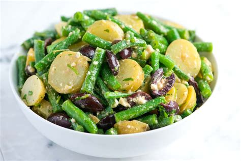 green recipe potato salad with green beans and ricotta recipe dishmaps