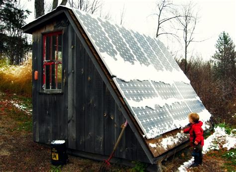 tiny house solar system installing a homestead solar electric system tiny house solar hot water system first