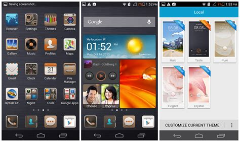 best themes huawei p6 huawei ascend p6 review